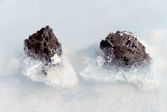 Lagune bleue Islande Images stock