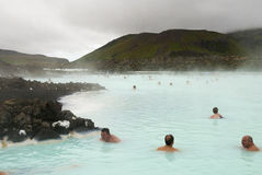 Lagune bleue, Islande Photographie stock