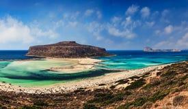Lagune Crète de Balos Photographie stock