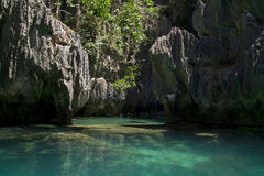 Lagune d'EL Nido Image stock