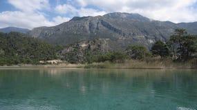 Lagune d'Oludeniz images stock