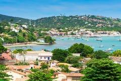 Lagune dans Buzios, Rio de Janeiro Images libres de droits