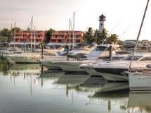 Lagune de bateau de Phuket Photos libres de droits