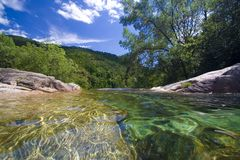 Lagune de Beautifull Image stock