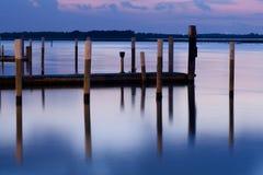 lagune de bibione Image libre de droits