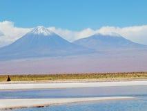 Lagune de Cejar Image stock
