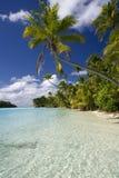 Lagune de Cook Eilanden - Aitutaki Stock Afbeeldingen