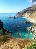 Lagune de falaise de la Californie Photographie stock