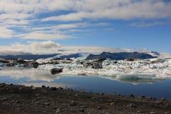 Lagune de glace Image libre de droits