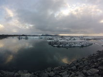 Lagune de glace photos libres de droits