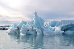 Lagune de glacier Images libres de droits