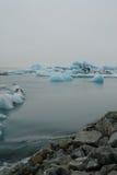 Lagune de glacier, Jokulsarlon, Islande Photographie stock