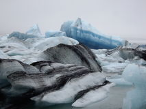Lagune de glacier, Jokulsarlon, Islande Photographie stock libre de droits
