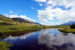 Lagune de Glenorchy Photo stock