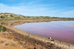 Lagune de Hutt images libres de droits