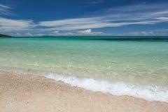 Lagune de l'eau de turquoise Photo stock