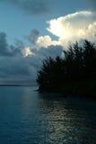 Lagune de l'Océan Indien images libres de droits