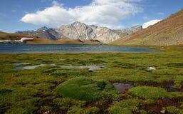 Lagune de Laguna Escondida Photo stock