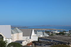 Lagune de Langebaan, cabo ocidental, África do Sul Imagens de Stock Royalty Free