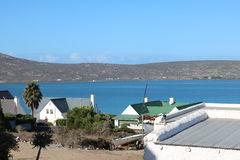 Lagune de Langebaan, le Cap-Occidental, Afrique du Sud Photos stock