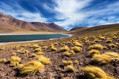 Lagune de Meniquez Photo libre de droits