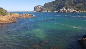 Lagune de mer photo libre de droits