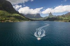 Lagune de Moorea image stock