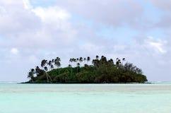 Lagune de Muri dans le cuisinier Islands de Rarotonga Images libres de droits