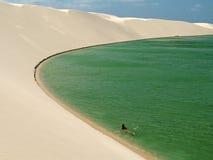 Lagune de paradis Image libre de droits