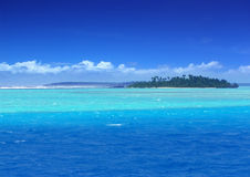 Lagune de paradis Photo libre de droits