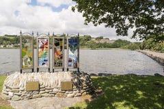 Lagune de Rosscabery Liège du comté, Irlande Images stock