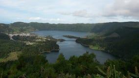 Lagune de sept villes photos stock