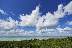 Lagune de Sian Ka ' Photos libres de droits