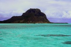 Lagune de turquoise Image libre de droits