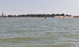Lagune de Venise, Italie image libre de droits