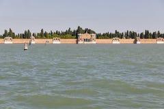 Lagune de Venise, Italie photographie stock libre de droits