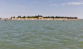 Lagune de Venise, Italie image stock