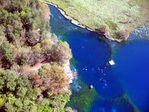 Lagune des halben Mondes Stockfotografie