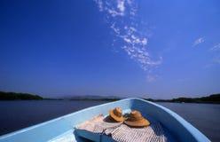 Lagune-Fahrgeöffnetes Wasser Stockbilder