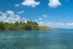 Lagune gri-Gri Royalty-vrije Stock Fotografie