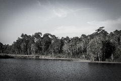 lagune in khaoyai 9 00 Royalty-vrije Stock Afbeeldingen
