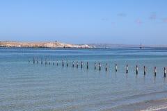 Lagune Langebaan, западная накидка, Южная Африка Стоковое Изображение RF