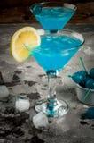 Lagune ou bleu bleue Curaçao photos libres de droits