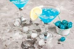 Lagune ou bleu bleue Curaçao images libres de droits