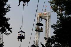 Lagune-Park: Himmel-Fahrt Lizenzfreies Stockfoto