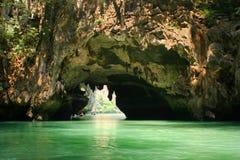 lagune près de phuket à Photographie stock libre de droits