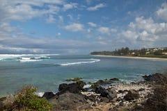 Lagune in Réunion stockfoto