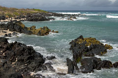 Lagune in Réunion stockbilder