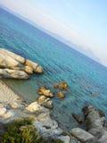 Lagune rocheuse Images libres de droits