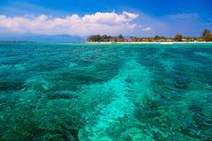 Lagune tropicale Photographie stock libre de droits